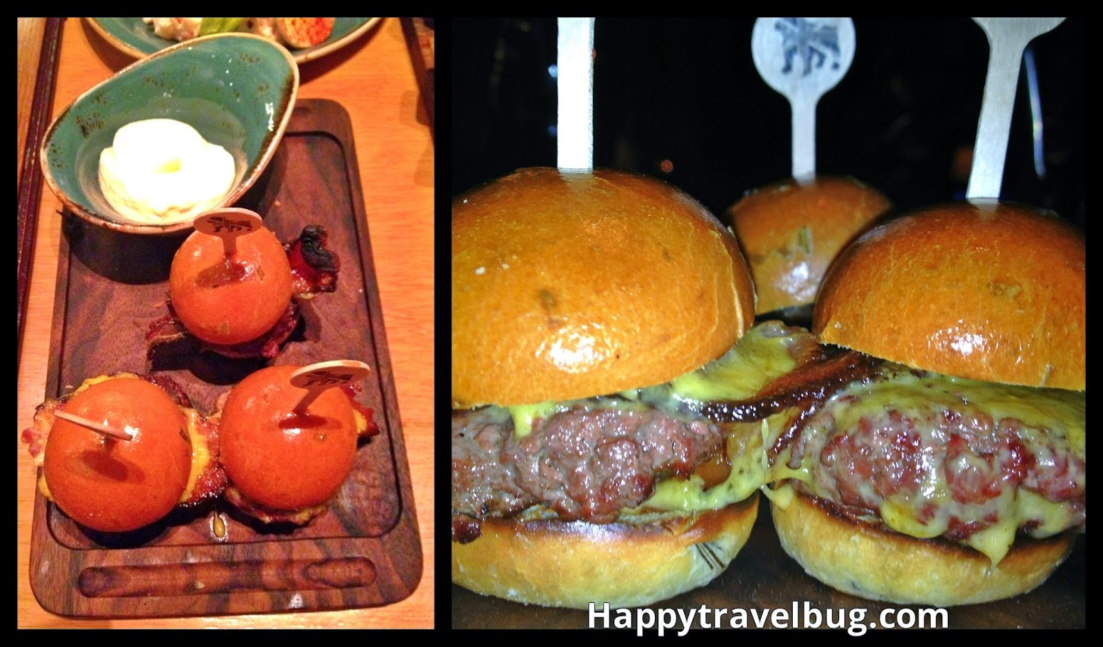 Sliders from Gordon Ramsay's Pub and Grill