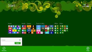 Membuat Grup pada Start Screen di Windows 8