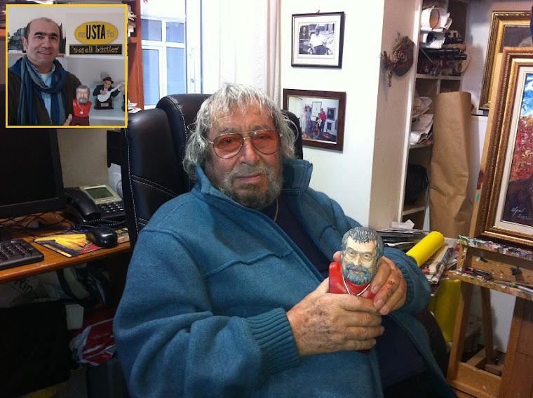 Fikret OTYAM'a 87.yaş günü hediyesi