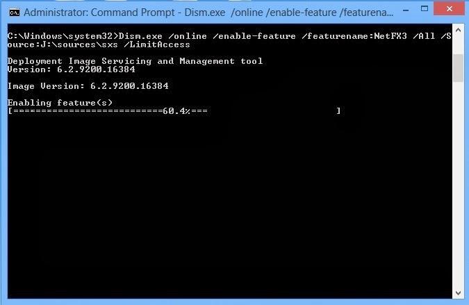 Cara Install .Net Framework 3.5 Di Windows 8 & 8.1