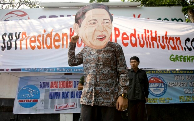 Greenpeace : SBY kurang peduli hutan