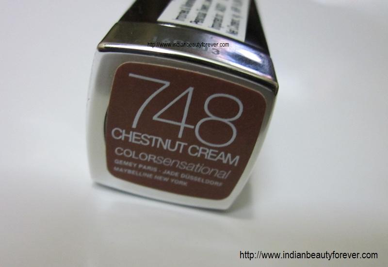 Maybelline Color sensational Lip Color Chestnut cream