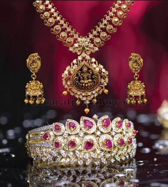 Mango Necklace Diamond Bangle