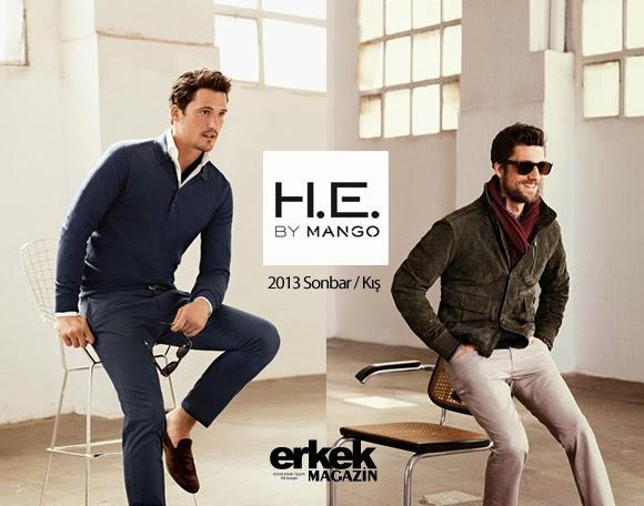 He By Mango 2013 Sonbahar Kış Erkek Modası