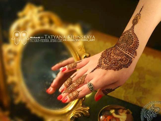 Mehndi For Dp : Mehndi designs arabic elegance and beauty