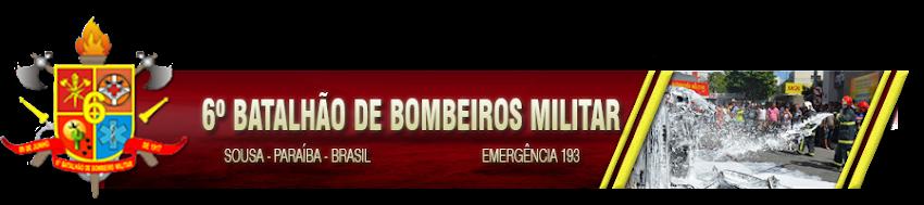 6º Batalhão de Bombeiros Militar de Sousa-PB