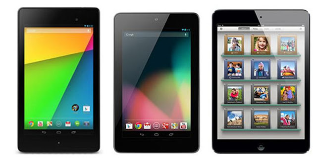 2nd Generation Nexus 7 vs Nexus 7 vs iPad Mini : Specs Comparison