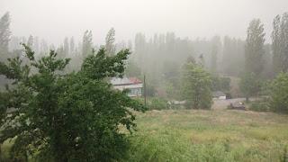 Kuvvetli Gök Gürültülü Sağanak Yağış ve Dolu Hadisesi Bekleniyor!