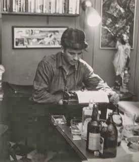 Kerouac, iş başında.