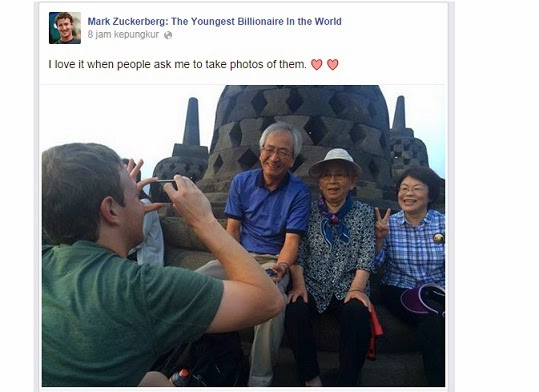 Bos Facebook Mark Zuckerberg Datang Ke Indonesia