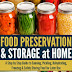 Food Preservation & Storage at Home - Free Kindle Non-Fiction