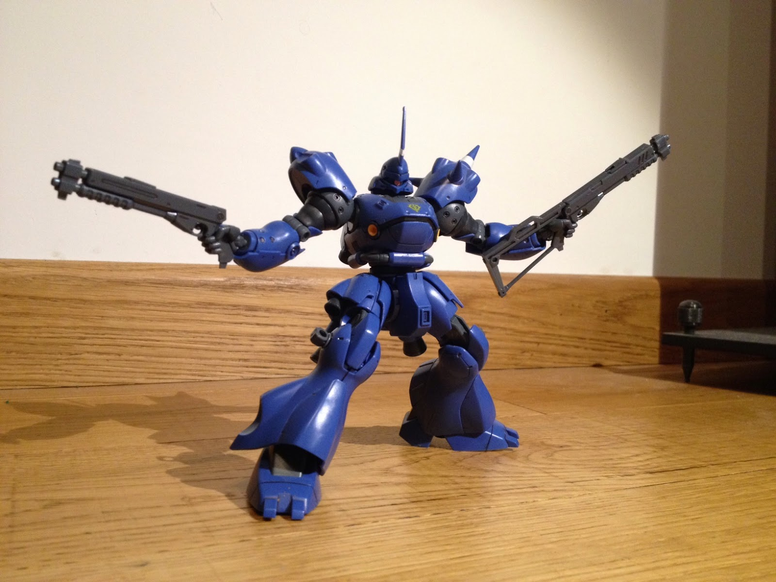 GUNDAMODELLISMO: HGUC MS-18E Kampfer - review Gunpla - a cura di Frost
