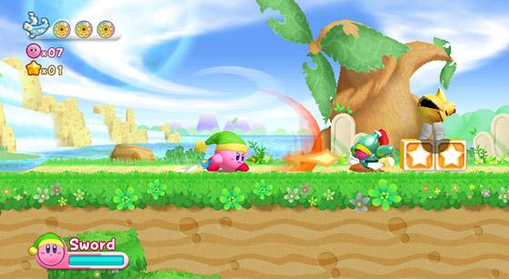 Vídeo e Imagens de Kirby's Return to Dreamland (Wii). Dreamland-4