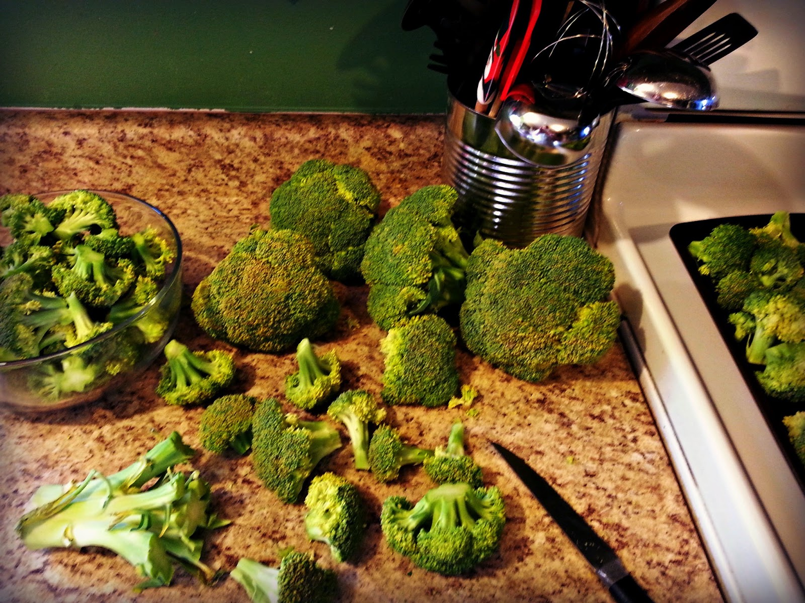 Bake and Freeze Broccoli at Home to Save $$$...