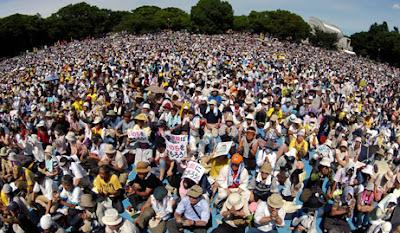 fukusima demo, фукусима митинг 2012