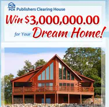 This Publisher s Clearing House Sweepstakes promotion giveaway 1830