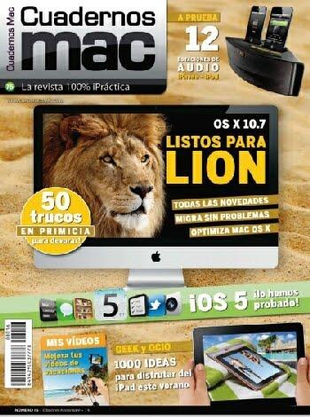Revista: Cuadernos Mac No. 16 - Julio/Agosto 2011 [34 MB | JPG | Español]