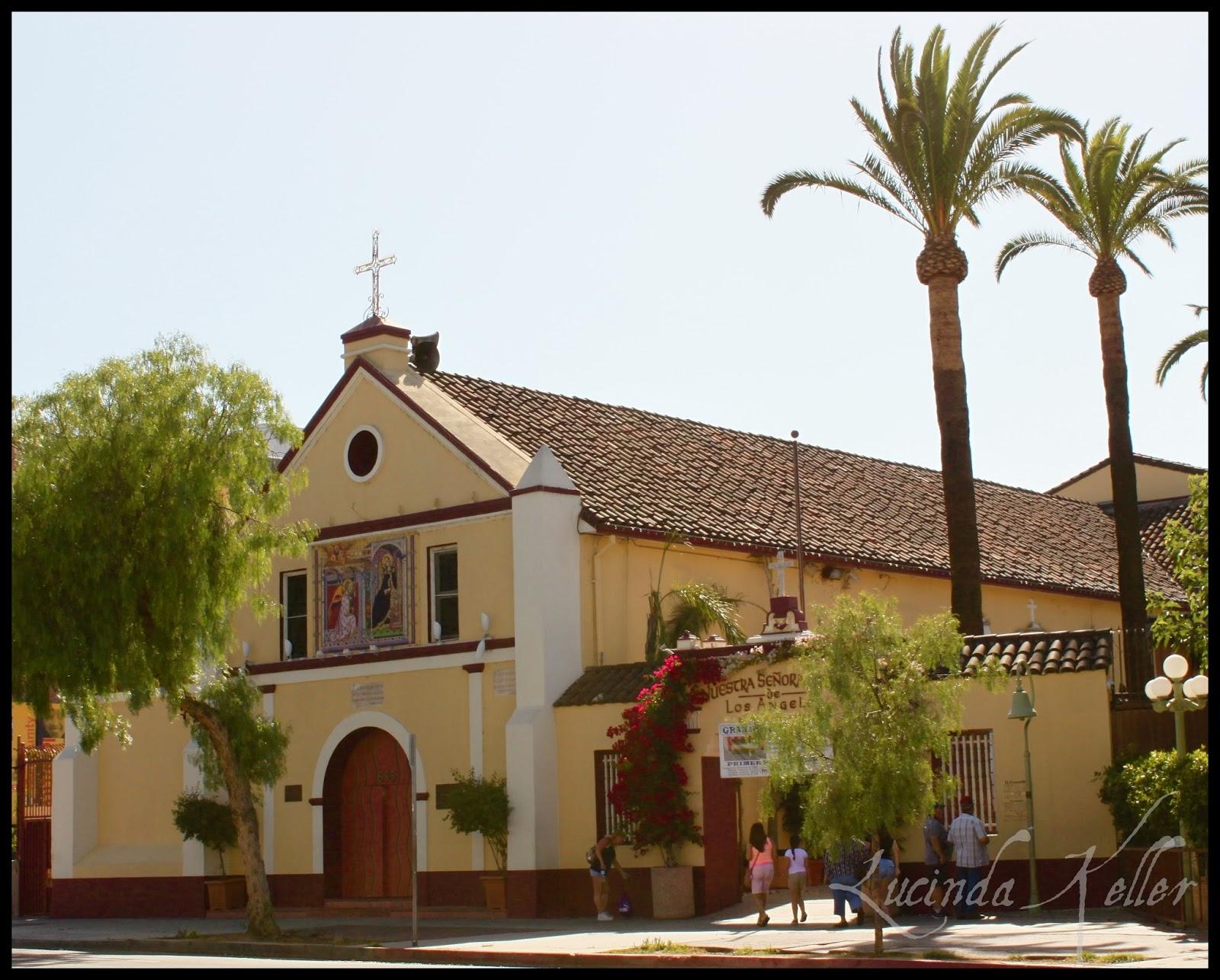 Olvera street church wedding