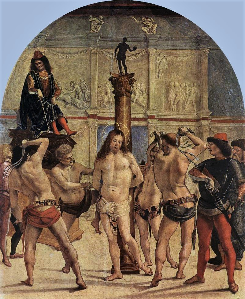 The Second Sorrowful Mystery – The Scourging At The Pillar