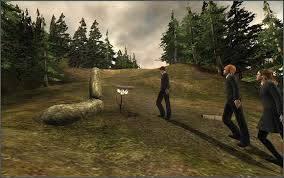 """Harry raccoglie il Mola (o Moly) nel videogioco """"HP e l'Ordine della Fenice"""""""