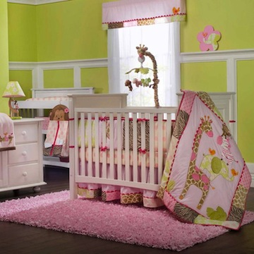 "carter&#39;s ""Jungle jill"" nursery"