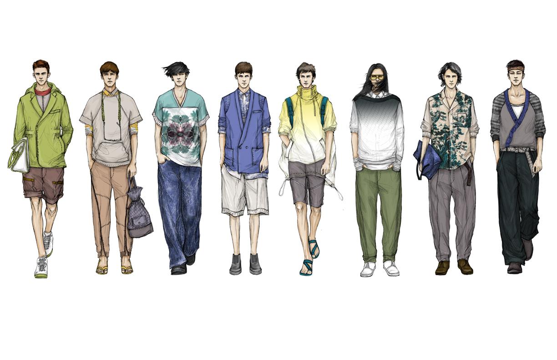 Men fashion illustration - photo#19