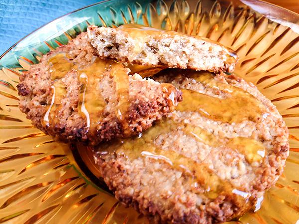 receta de juego de tronos: galletas de avena saladas con miel