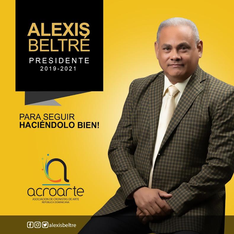 Periodista Alexis Beltré aspira presidencia de Acroarte