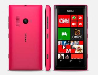 Spesifikasi HP Nokia Lumia 505 WP 7.8