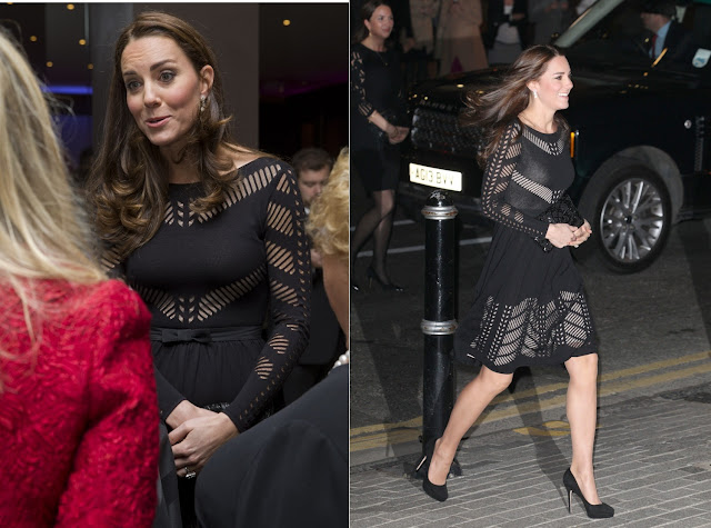 Duchess wore a piece from Temperley London's pre-fall 2014 collection