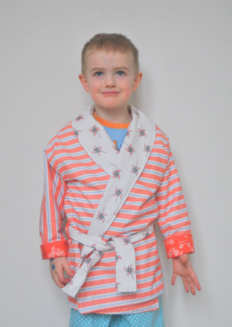 Sewing For Boys Robe