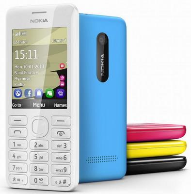 Harga handphone Nokia 206 Dual