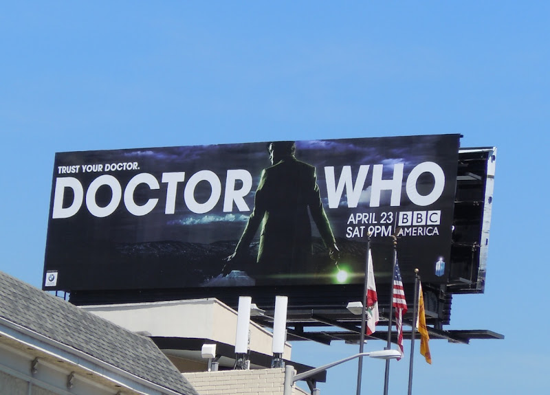 Doctor Who 6 TV billboard