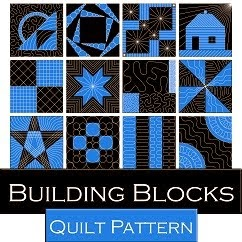 New Piecing and Quilting Pattern!