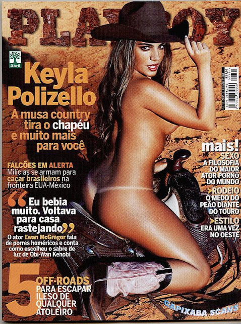 Keyla Polizello nua