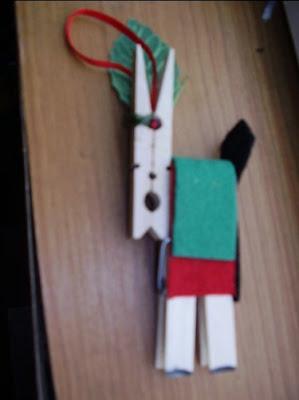 Clothespin reindeer 2