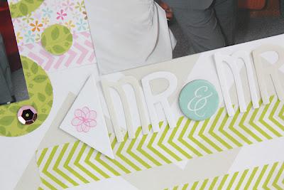 Mr&Mrs Wedding Layout by Juliana Michaels for Bella Blvd