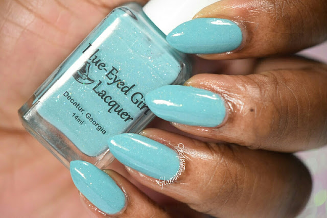 Blue-Eyed Girl Lacquer I Have Known You Since You Were Very Small