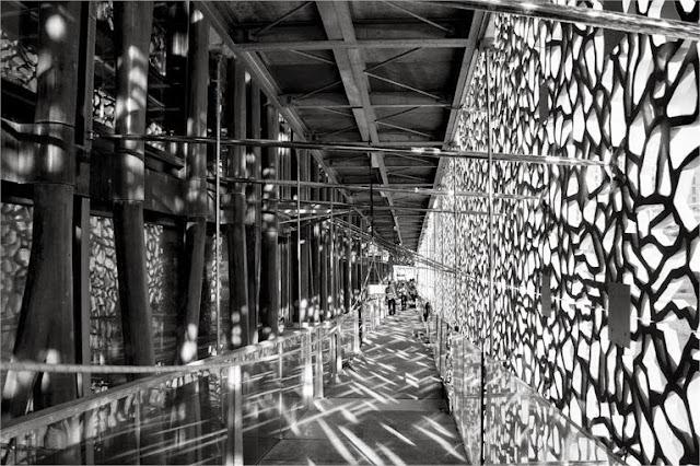 Dettagli del Mucem - Immagine dalla scheda progetto di Rudi Ricciotti
