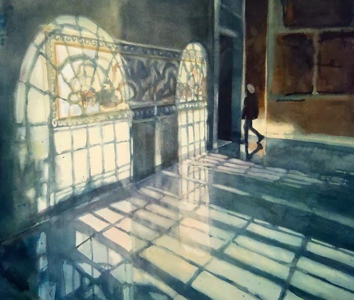 Акварельные картины. Sarah Yeoman