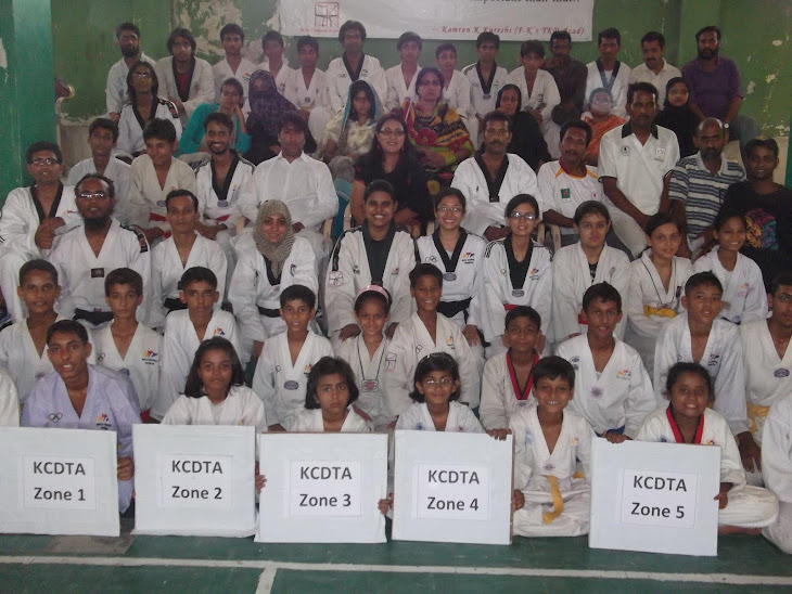 GROUP PHOTO OF KCDTA POOMSAE EVENT 2011