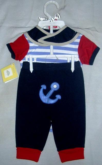 Setelan Baju Bayi Laki-Laki Baby Mini Beetle - Belakang