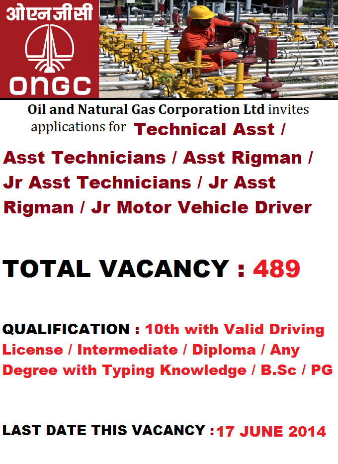 ONGC Recruitment 2014 is one of the biggest and well known company to