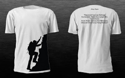 Design Design Custom Shirt Printing for Men - Penyu Kaos Semarang