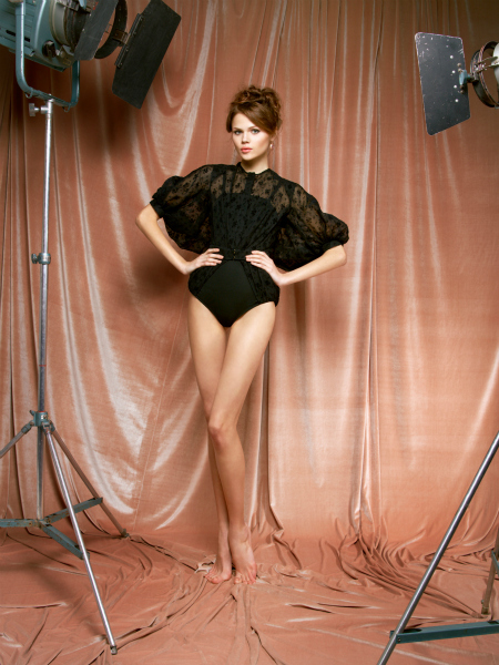 Hora de Diva: SS 2012 Ulyana Sergeenko. Moda romântica e