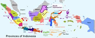 Peta Lokasi Ibu Kota Jakarta di Negara Indonesia