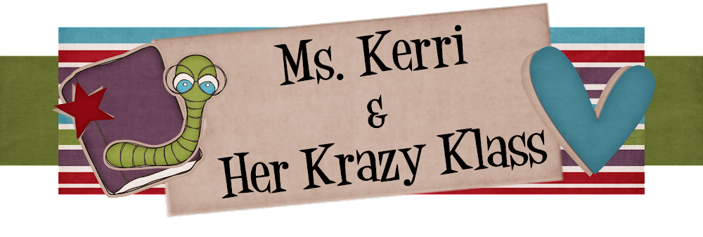 Ms. Kerri and her Krazy Kindergarten