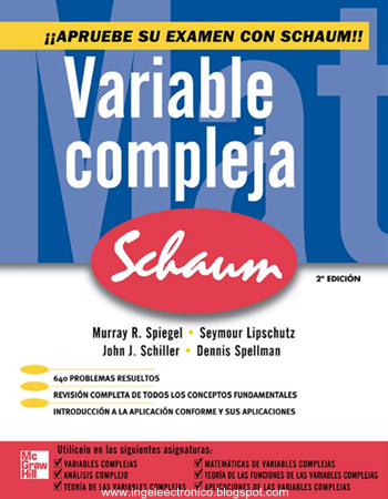 Funciones de variable compleja pdf