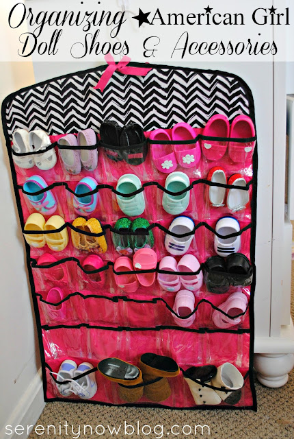Organizing &amp; Storing American Girl Doll Shoes &amp; Accessories, from Serenity Now