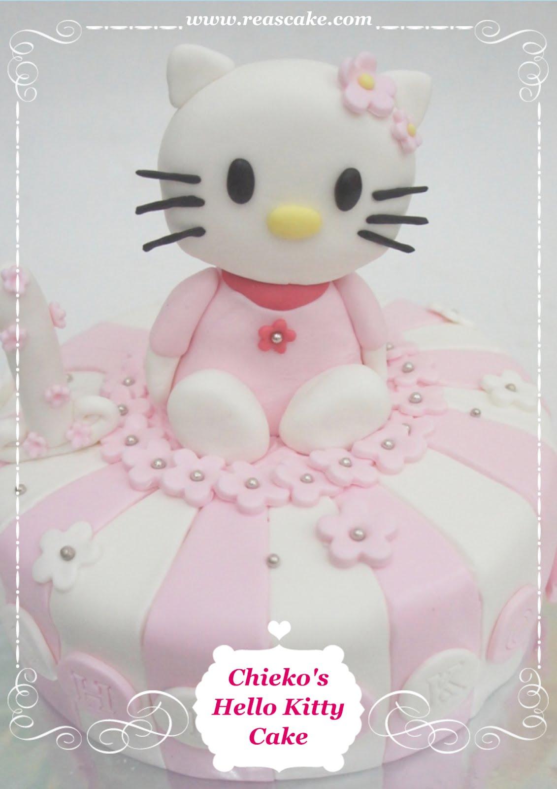 reas küche: hello kitty cake untuk chieko